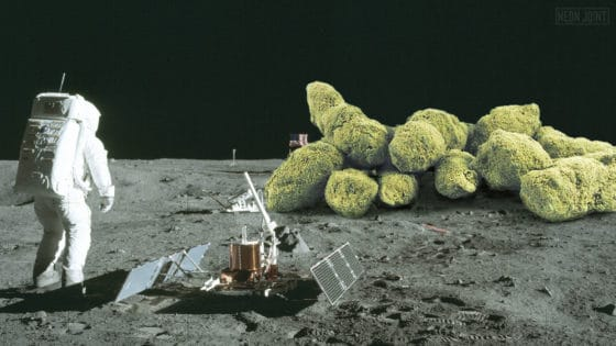 Moon Rocks One Giant Hit for Mankind